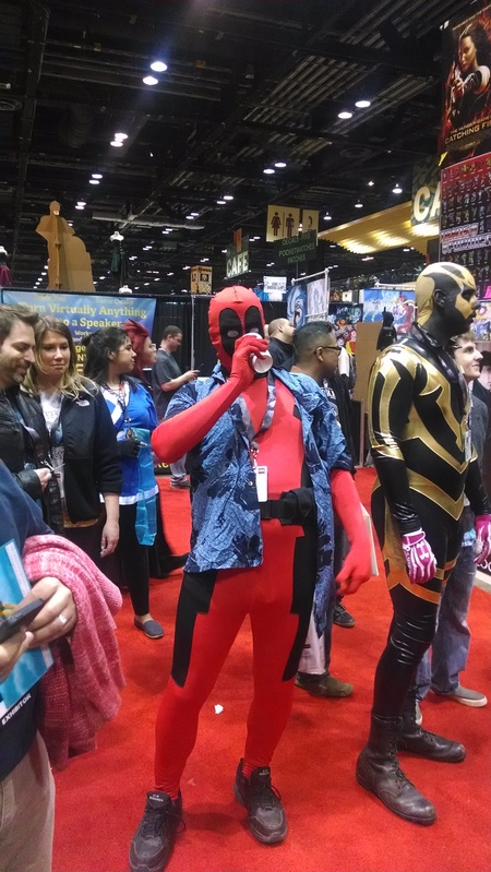 Deadpool with a brewski